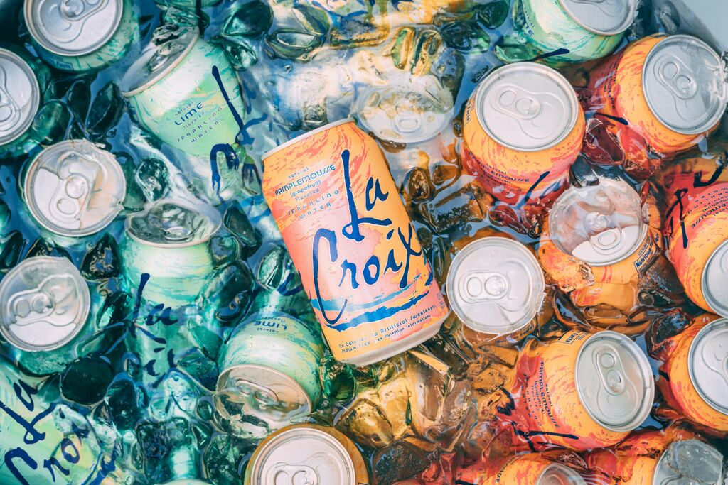 Sparkling water is a better alternative to soda and juice.