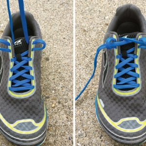 how to lace your shoes: runner's loop