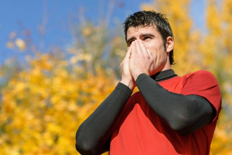 coughing post run