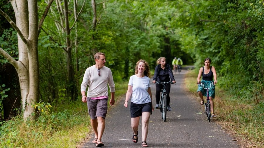 paved recreational trails