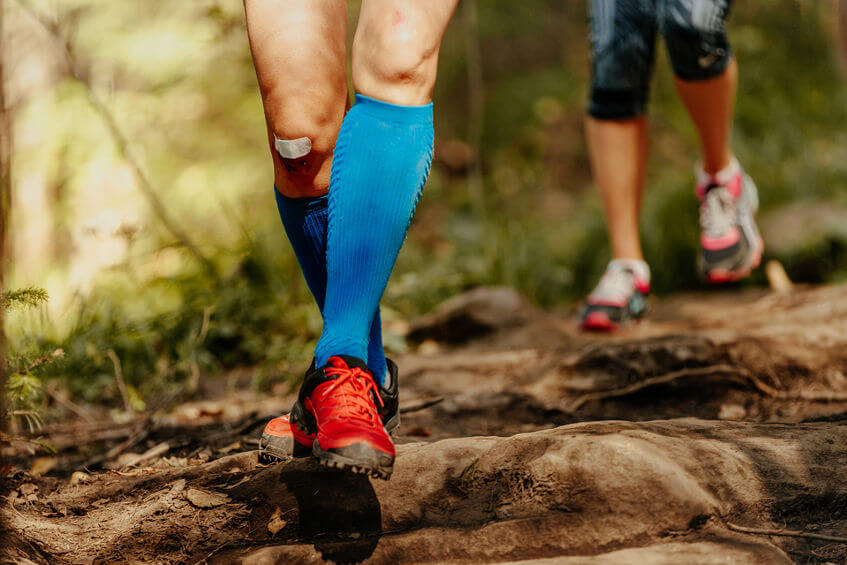 what do compression socks do for runners