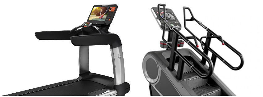 treadmill or StairMaster