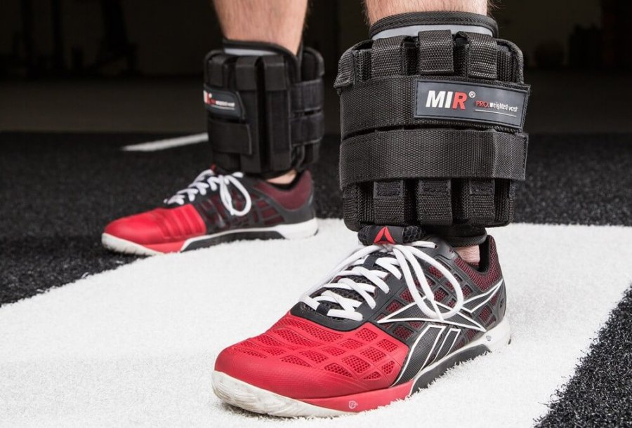 running with ankle weights
