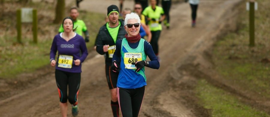 running a marathon at 50