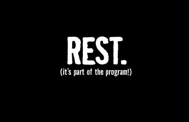 rest day for runners