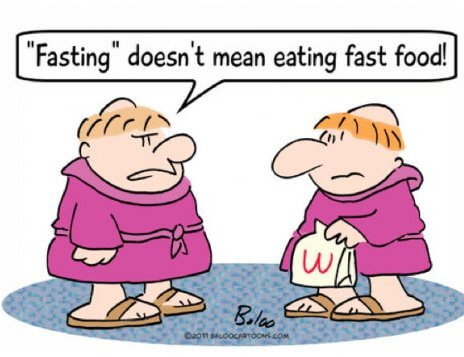 running on an empty stomach