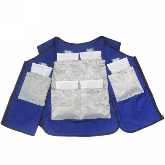 how does a cooling vest work