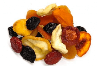 mixed dried fruit for runners