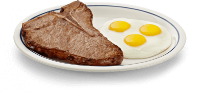 meat and eggs