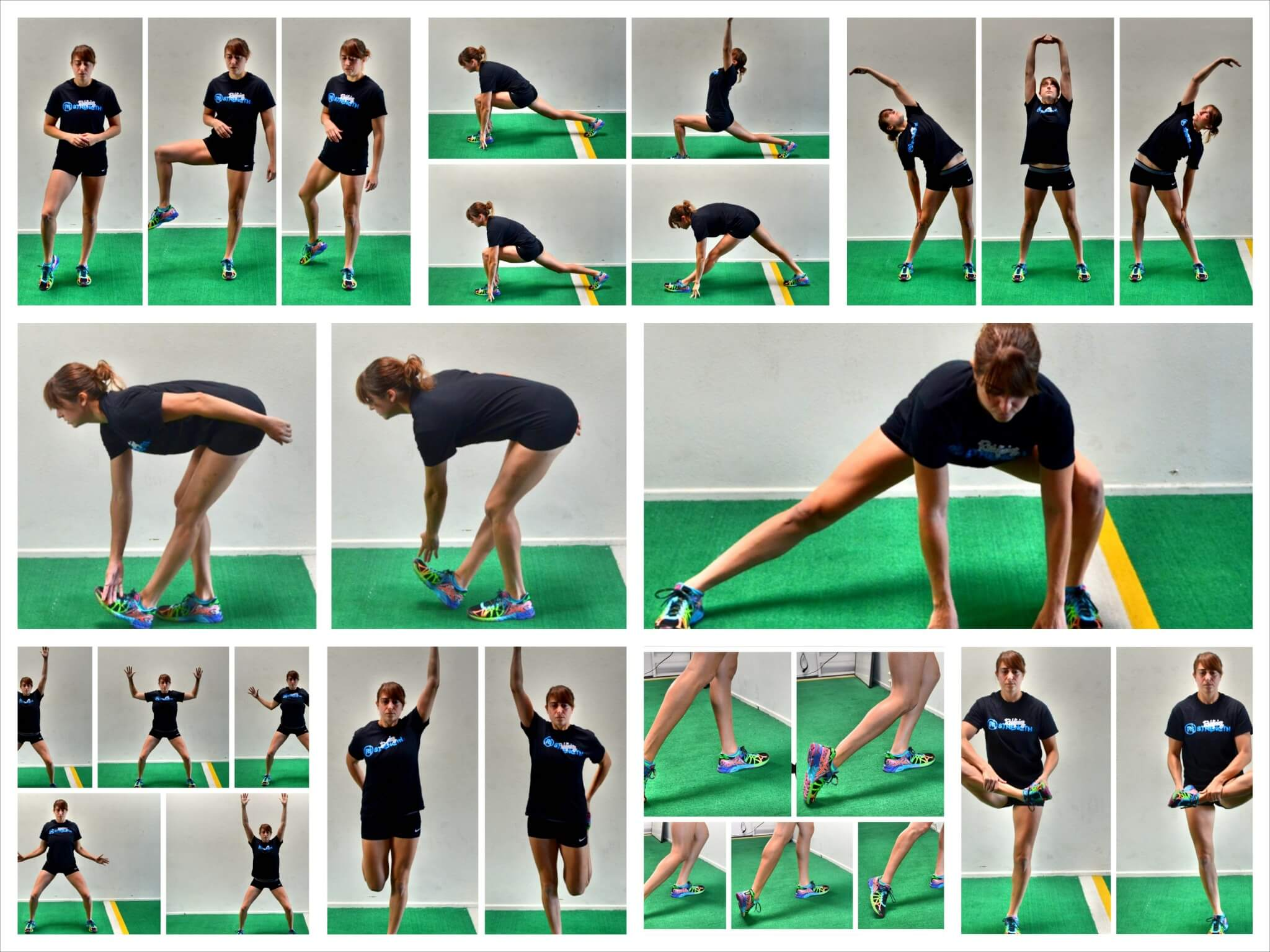 dynamic stretches for running