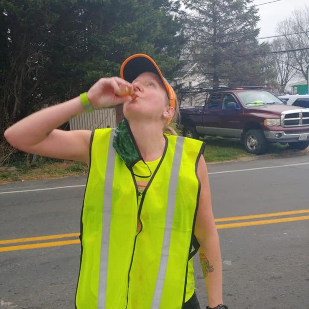 Honore MacCoy Patty on beer and running