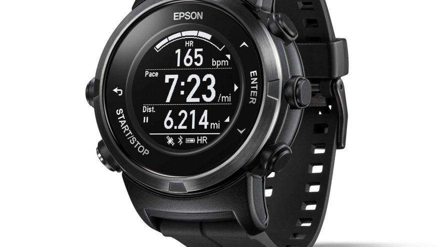Epson Announces Launch of New GPS Running Watches