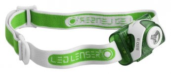 LED Lenser SEO3 is an excellent running headlamp.
