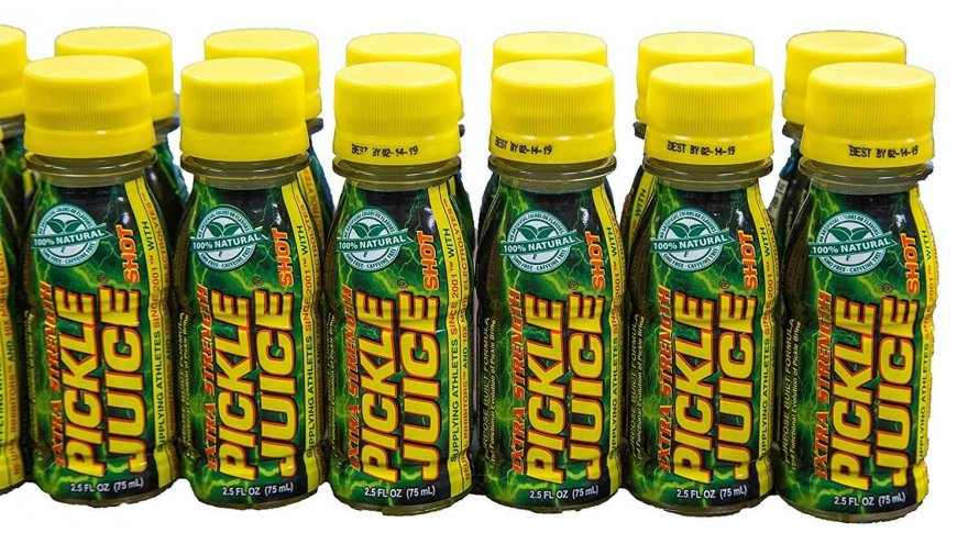 A review of the the pickle juice sport drink