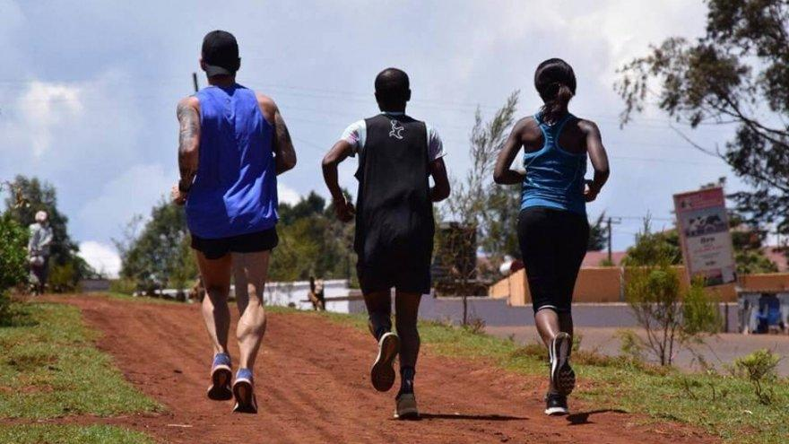 Running to make a difference in rural Kenya.