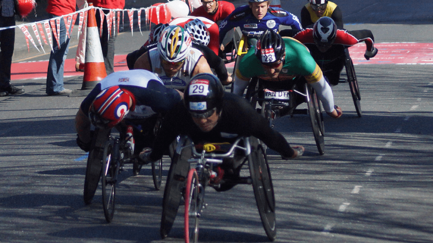 Ernst van Dyk: The Paralympian with a record 10 Boston Marathon titles under his belt.