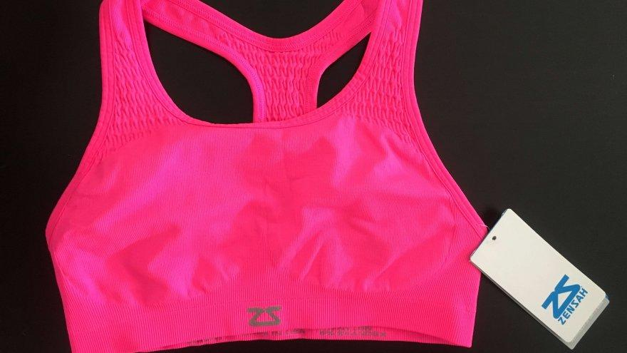 An in depth review of the Zensah Seamless Sports Bra
