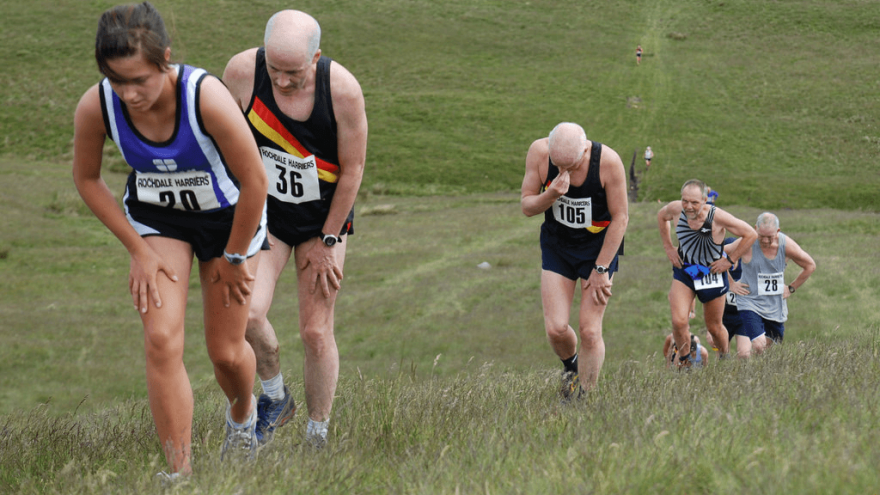 Fell running: Not for the faint-hearted.