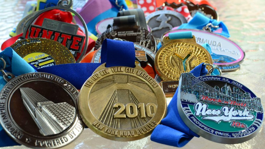 Unique race medals that you'll want to earn.