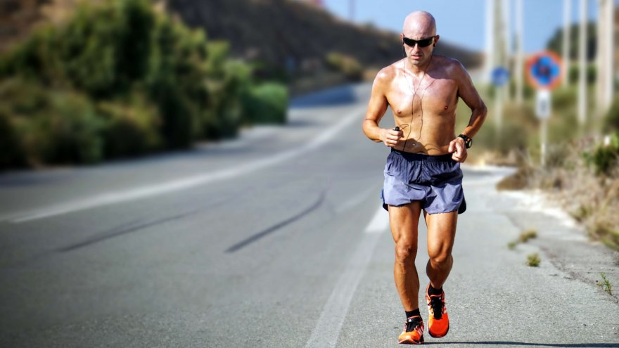 late to start running? it has it's benefits