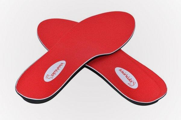 Insoles for runners with flat feet