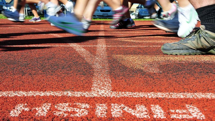 why do some runners cry at the finish line