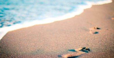 The pros and cons of running on the beach.