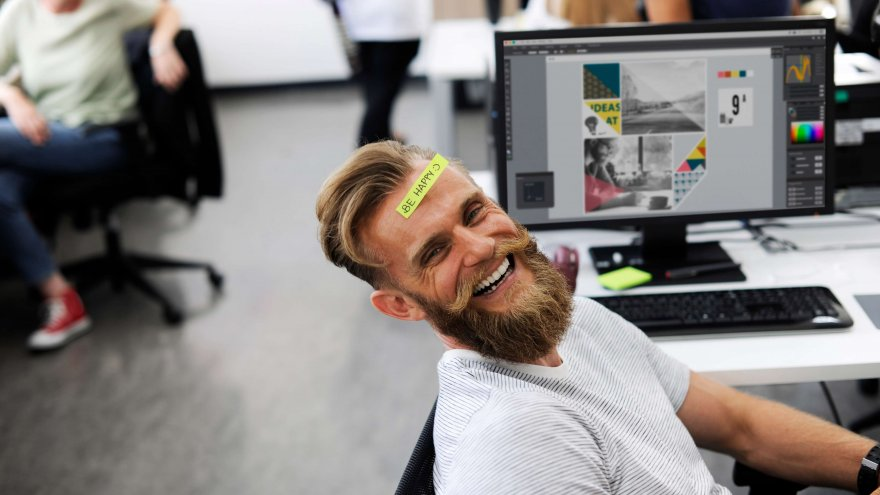 Are running employees more productive than non-running employees?
