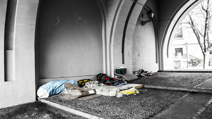 On My Feet: Giving the homeless a hand up through running.
