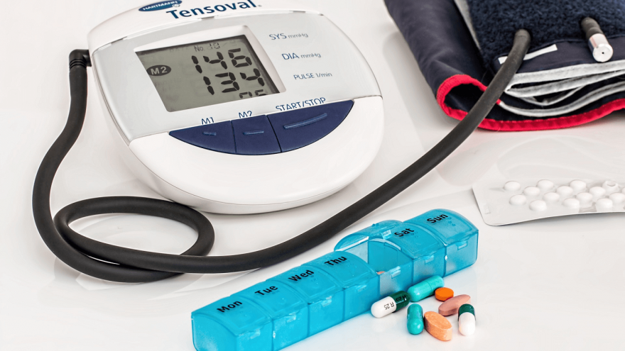 Does blood pressure medication affect running performance?