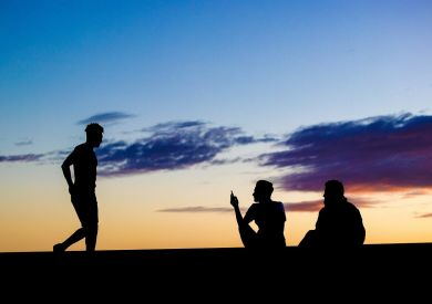 peer pressure and running - the good and the bad