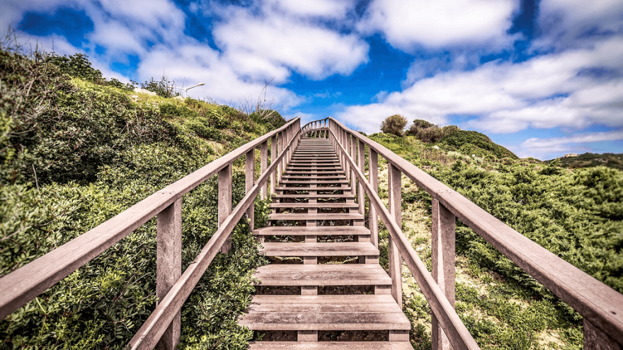 How stair running can benefit runners.