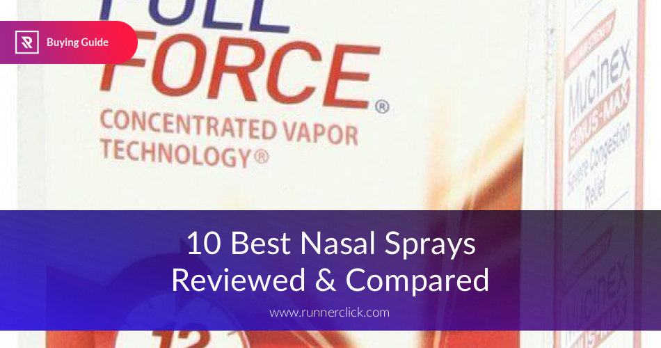 Best Nasal Sprays Reviewed & Tested in 2019 | RunnerClick