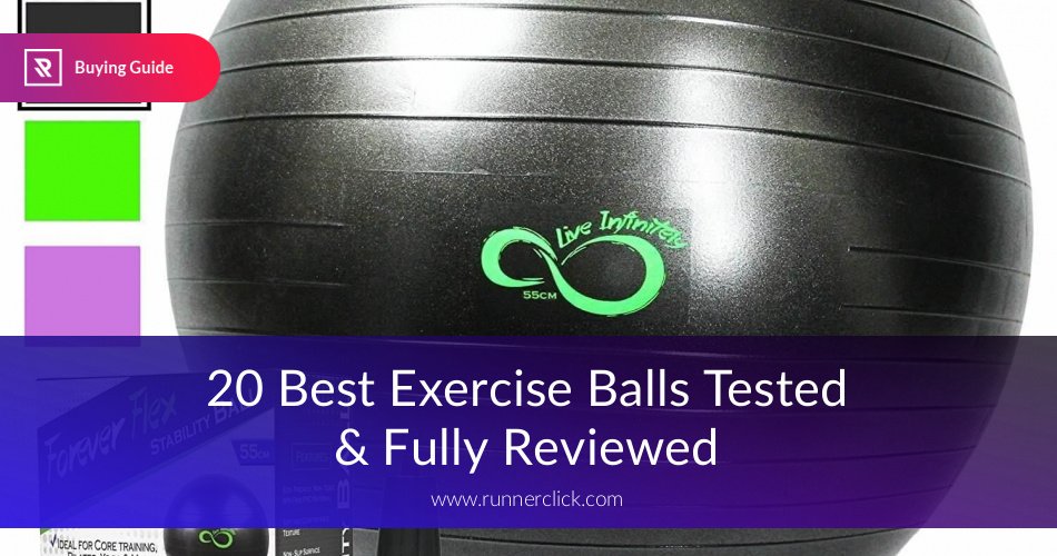 Best Exercise Balls Reviewed Compared RunnerClick