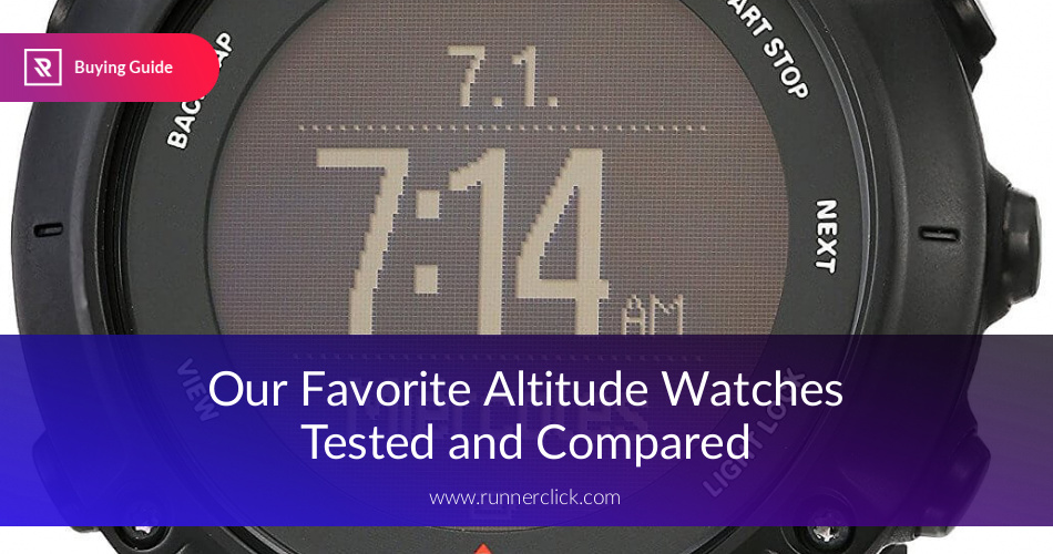 Best Altimeter Watches Reviewed & Compared | RunnerClick