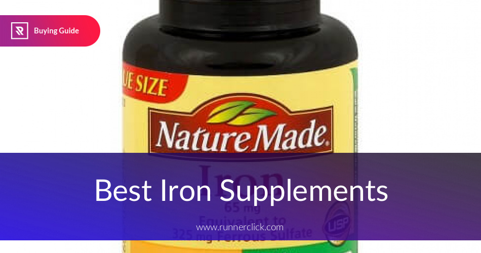 Best Iron Supplements Reviewed in 2019 | RunnerClick