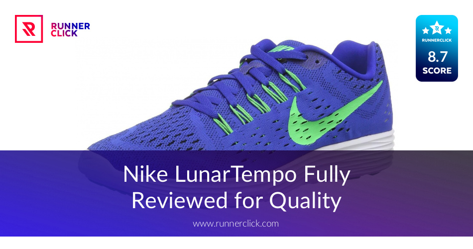 Nike LunarTempo Men's Running Shoes Lyon Blue