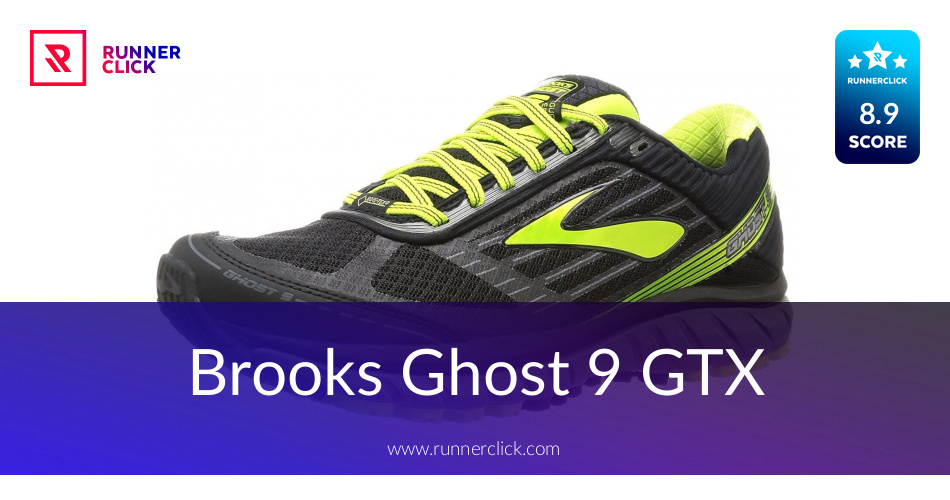 6e88bde7ee4 Brooks Ghost 9 GTX Reviewed - To Buy or Not in May 2019