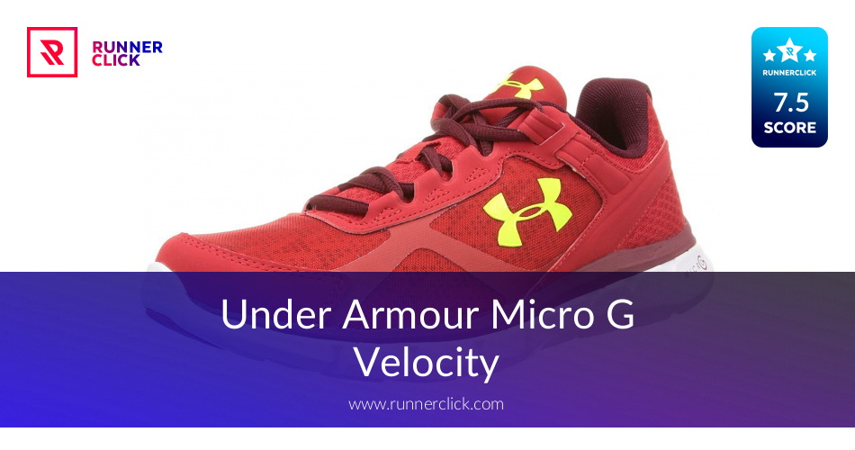 new arrival c6661 562f2 Under Armour Micro G Velocity