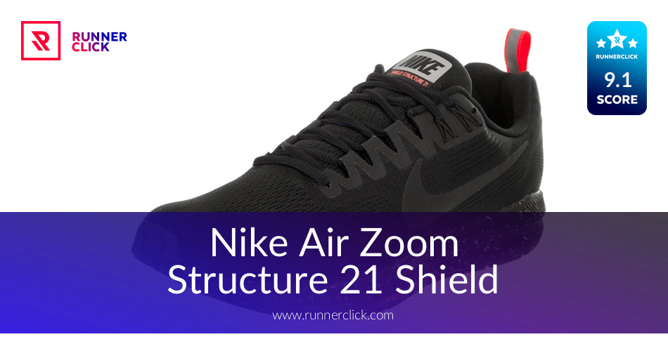 Nike Air Zoom Structure 21 Shield - in Apr 2019  e9613a626