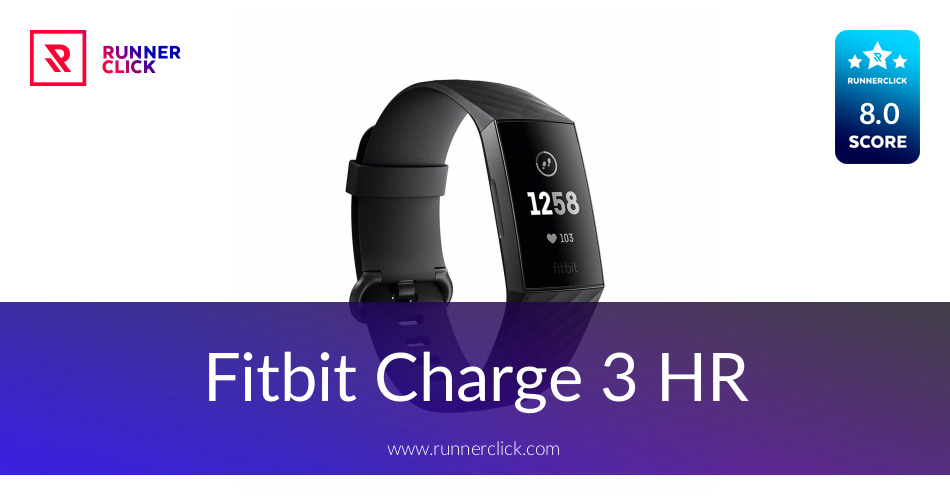 Fitbit Charge 3 HR